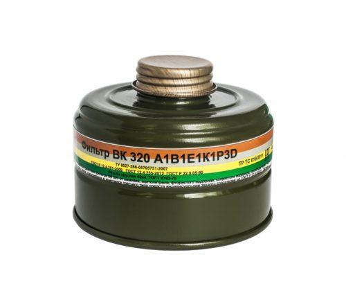 Фильтры для противогазов ВК